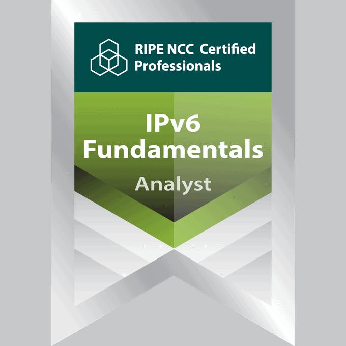 RIPE Certified Professional - IPv6 Fundamentals Analyst